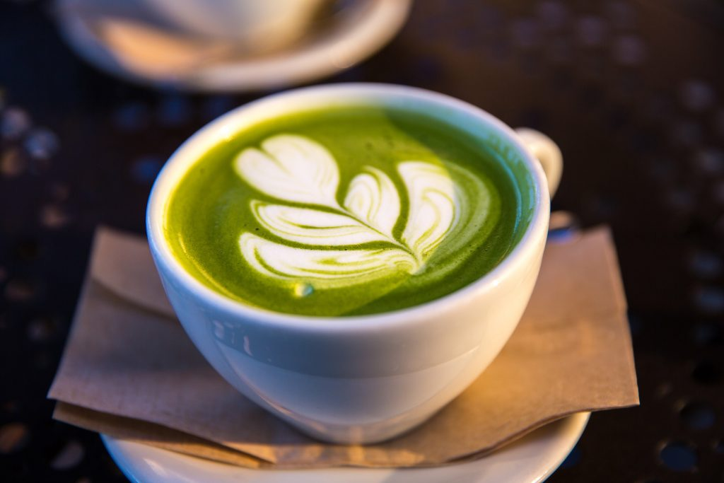 Matcha Latte Photo by Jason Leung on Unsplash