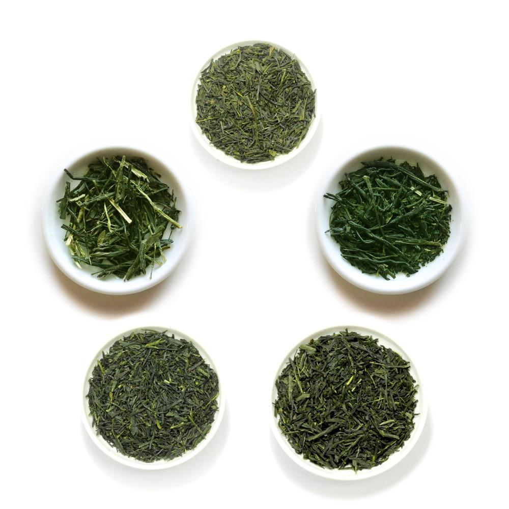 Yunomi green tea sampler