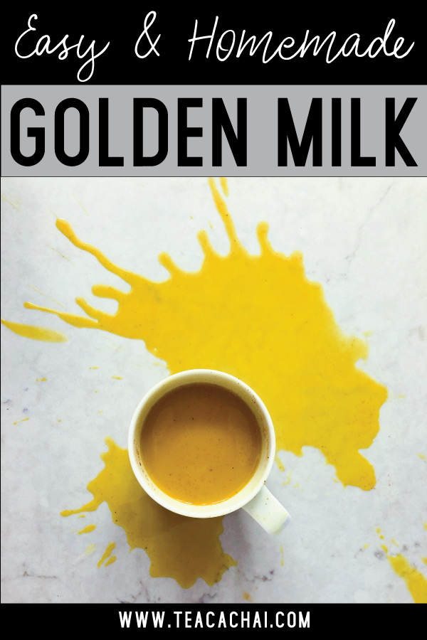 Easy and Quick Golden Milk Recipe