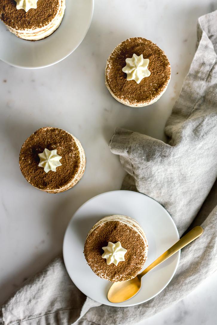 Pu-erh Tiramisu- Flour Covered Apron and Tea Cachai Collaboration