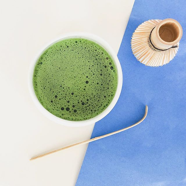 Matcha in Chawan and chasen
