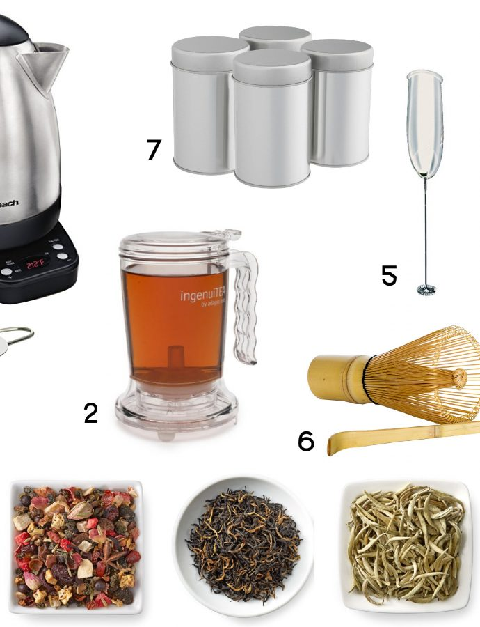 Top 7 Tea Tools and Accessories