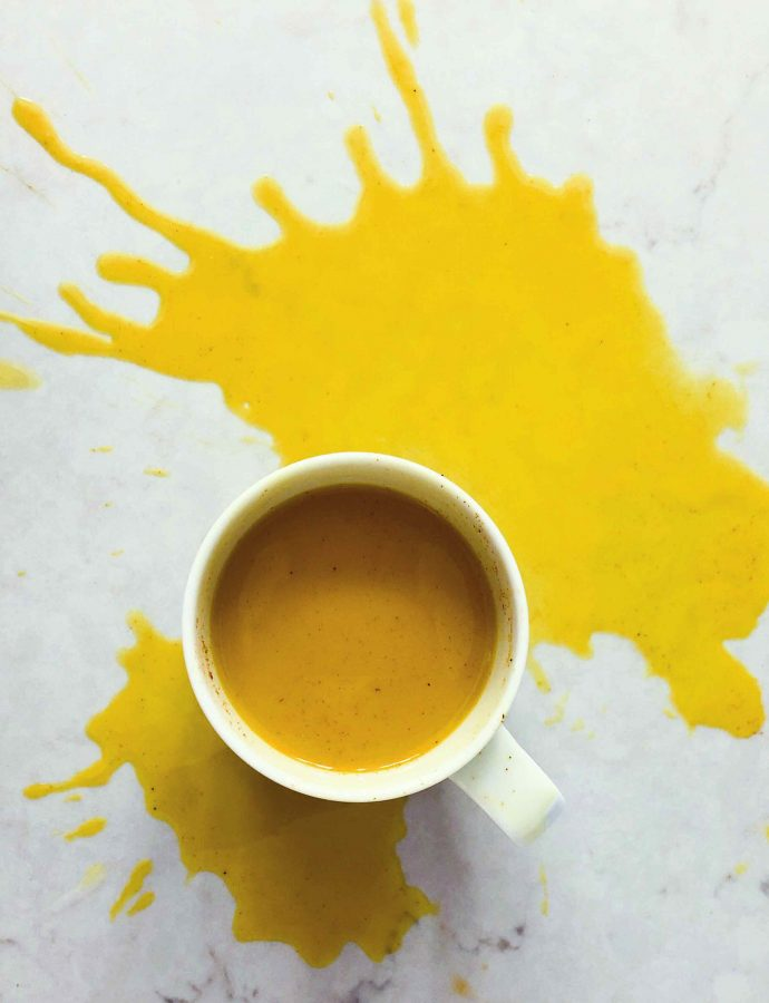 2-Minute, Easy Golden Milk