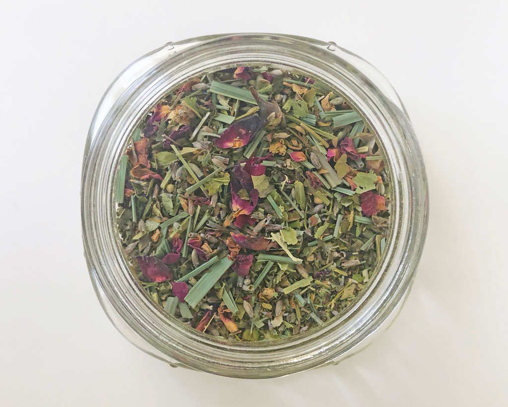 Herbal Blend Top View