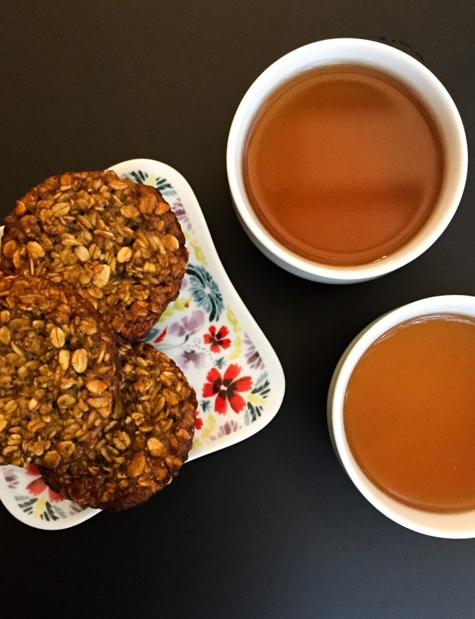 Rooibos Infused Oat Muffins