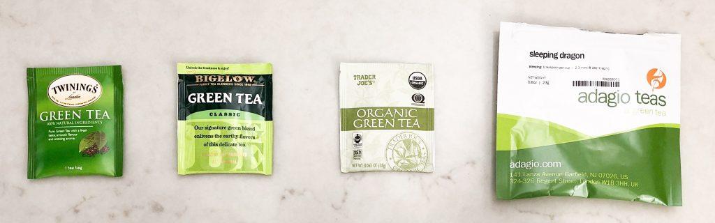 Green Tea Tasting - Mass Market Brands
