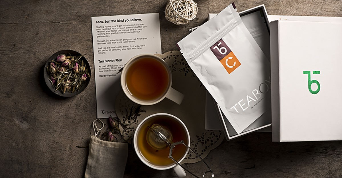 Teabox tea subscription box
