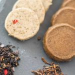 Tea Shortbread cookies and loose leaf tea