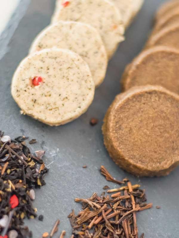 Tea Shortbread Cookies