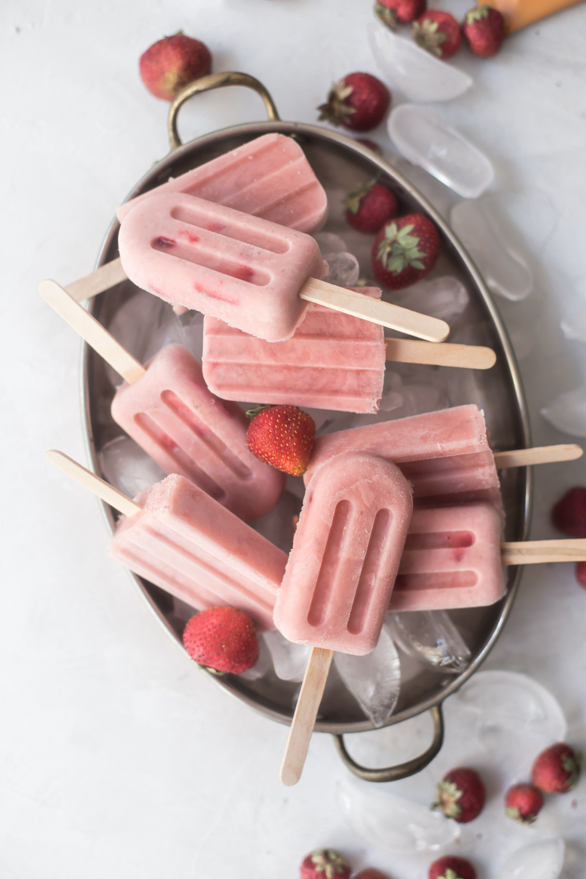 Oliveandartisan - Peppermint Strawberry Creamsicles recipe