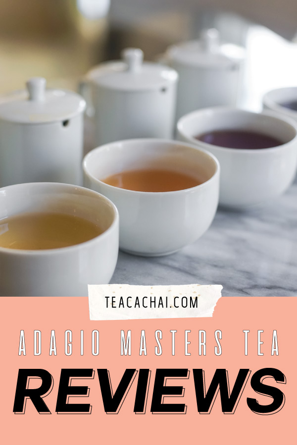 Adagio Masters Tea Collection Tasting and Reviews