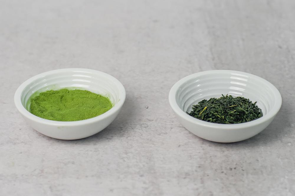 Matcha vs Green Tea Leaves