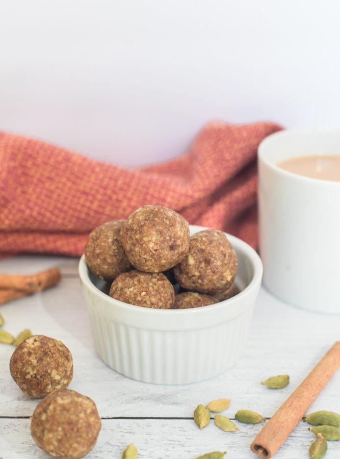 Pumpkin Chai Latte Energy Balls Recipe