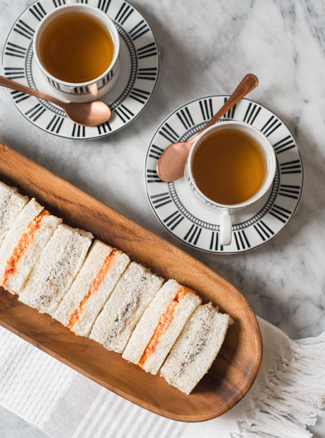 2-Easy Recipes for Tea Sandwiches: Chicken and Vegan Options