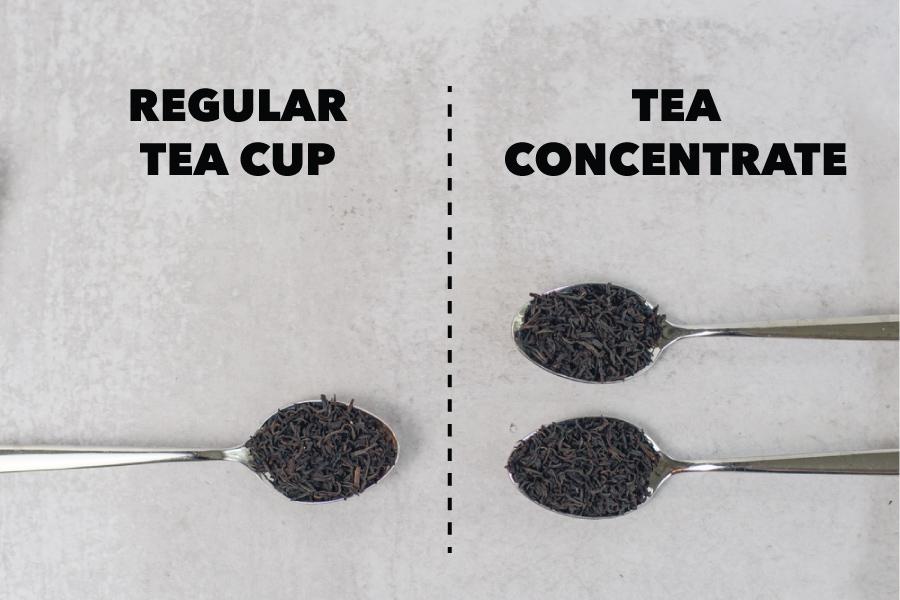 Spoons with Loose Leaf Tea
