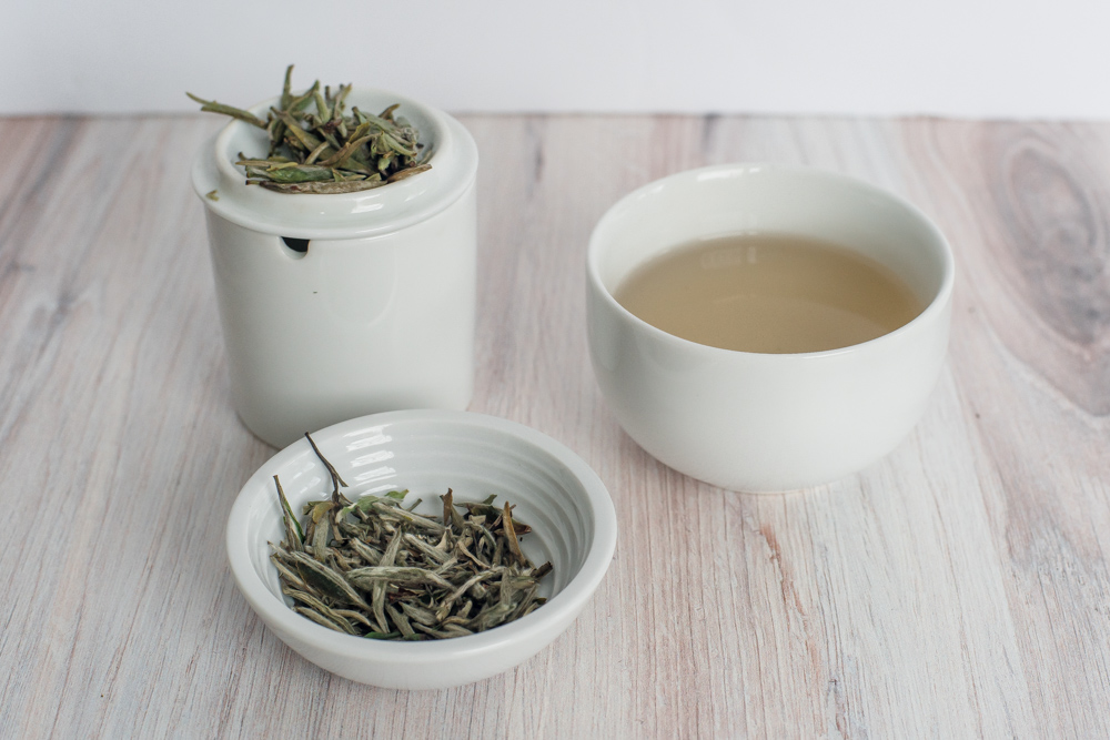 Caffeine in White Tea - Silver Needle