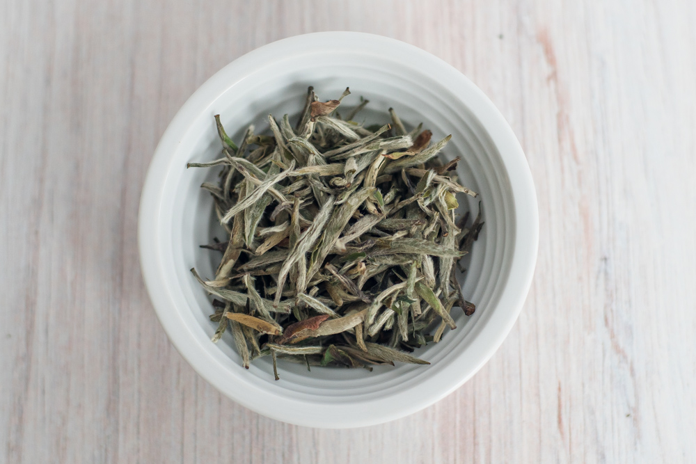 Silver Needle Tea Leaves