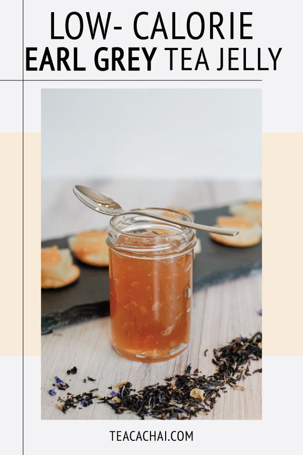 Low-Calorie Earl Grey Tea Jelly