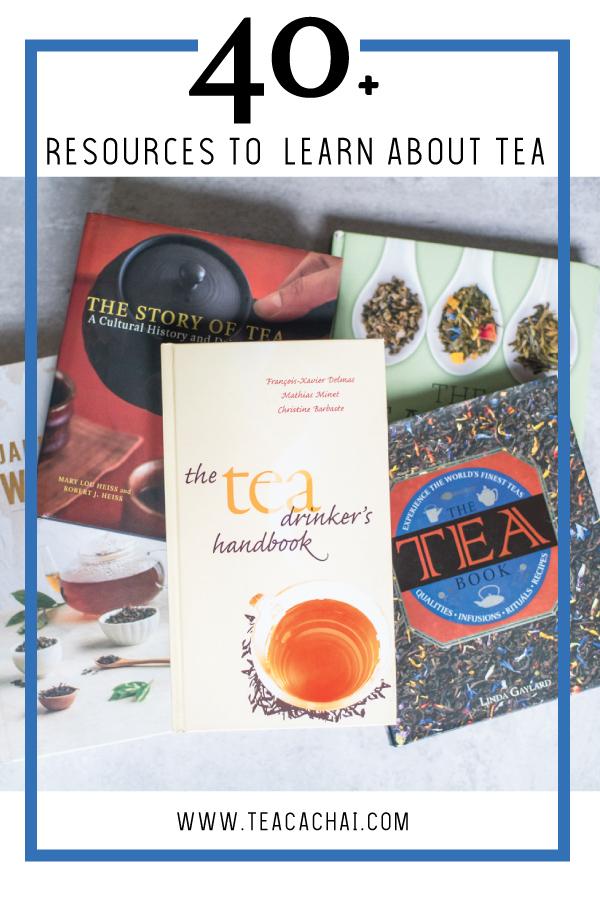 Books to Become a Tea Expert
