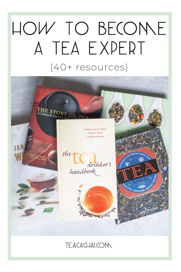 Tea Books to become a tea expert