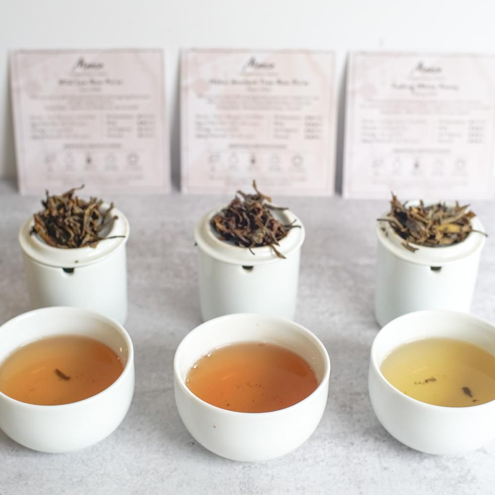 Mansa tea tasting