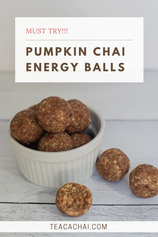 Pumpkin Chai Energy Balls
