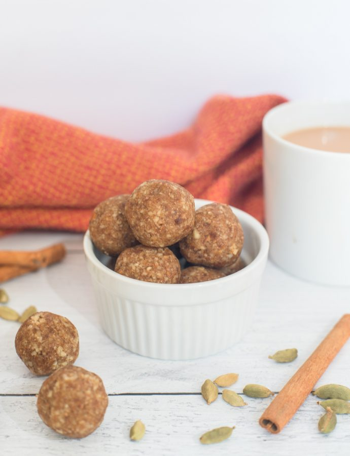 Pumpkin Chai Latte Energy Balls Recipe