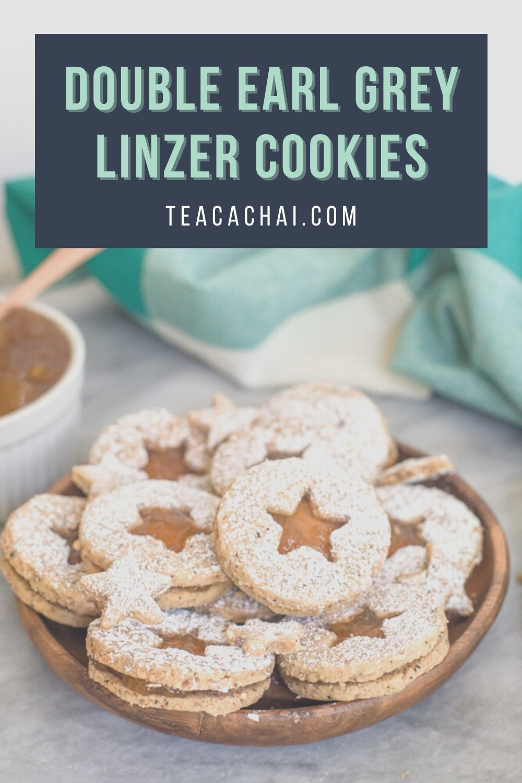Double Earl Grey Linzer Cookies
